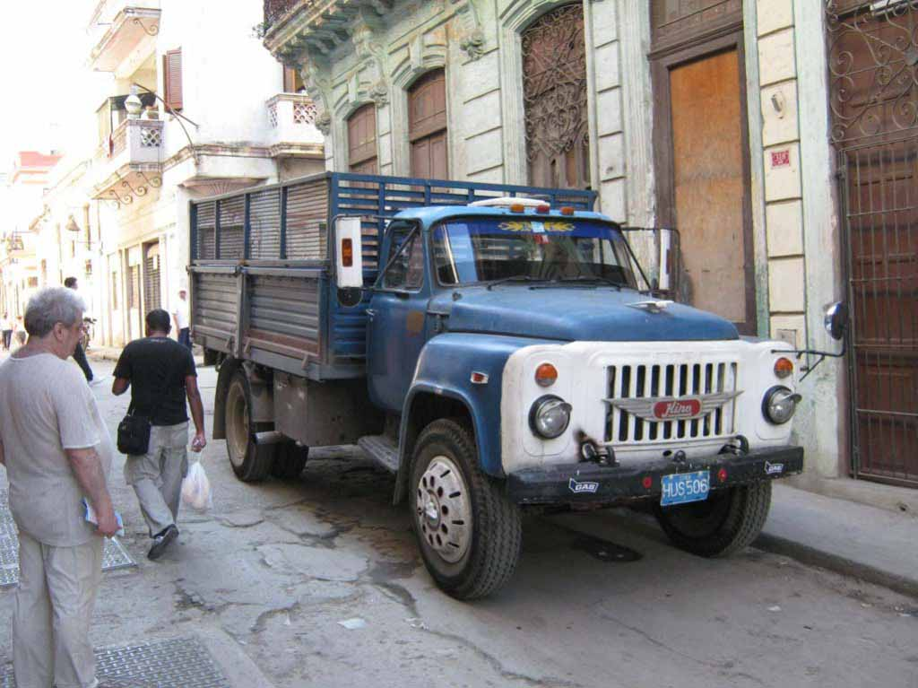 Газ52 – кубинский тюнинг.