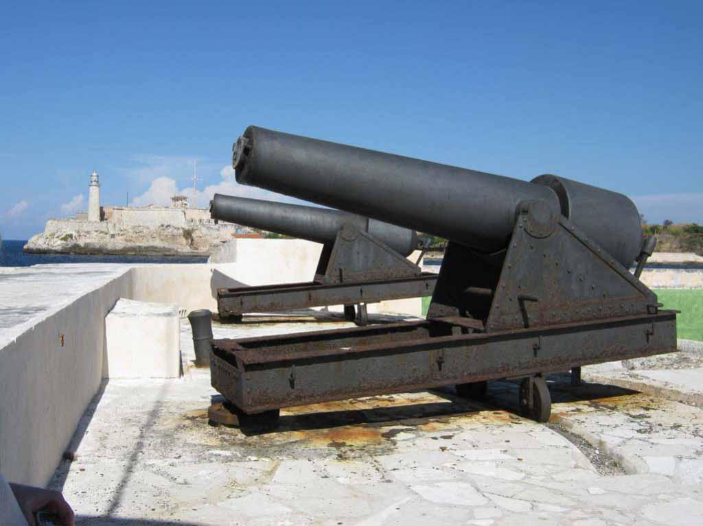 Эти пушки когда-то защищали Гавану.