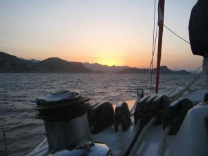 Восход перед Дубровником