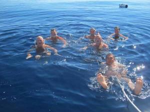 Морские солнечные ванны