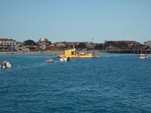Желтая субмарина на Кабо Верде