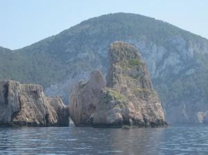 Скалы Ибицы