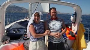 Морская Свадьба в двух полушариях сразу