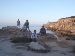 На северном берегу Ибицы