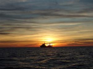 Рыбак в Атлантике
