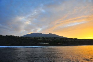 Восход над Фогу.