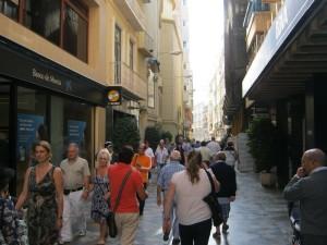 Туристов в Картахене много