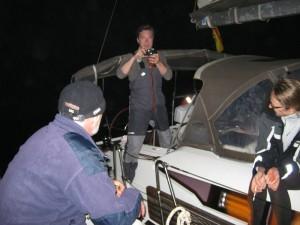 Альмерийский залив ночью