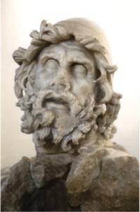 Бюст Одиссея работы древних греков