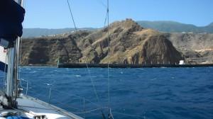 Вход в порт Санта Круз де Ла Пальма