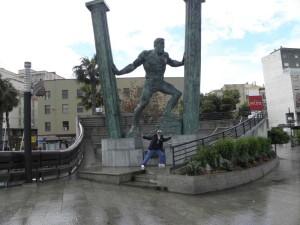 Геркулесы в Сеуте