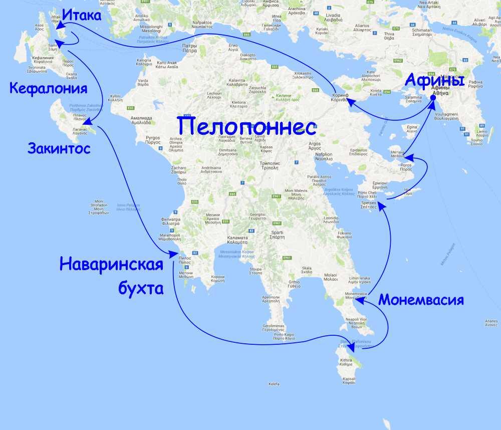 Пелопонесския кругосветка за две недели на яхте их афин.