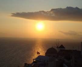 """(июнь-сентябрь) 2018г. Греция, неделя под парусом """"Афины–Санторини–Афины"""""""