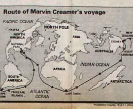 Марвин Чарльз Кример, навигация.
