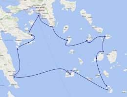 2018г. По островам Греции