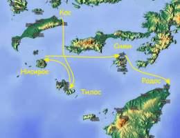 Парусная регата  Кубок острова Родос, Греция, 2017