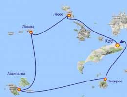 Майские в Греции на острове Кос