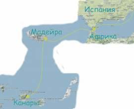 Весенний переход Канары - Майорка  2018